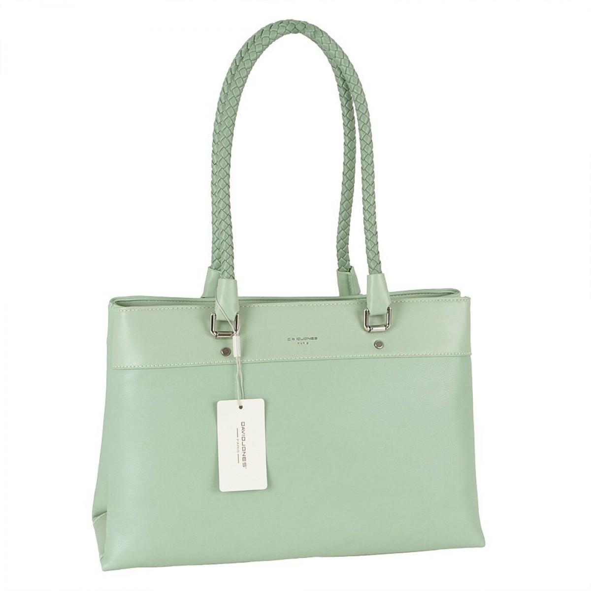 Жіноча сумка David Jones 6314-2 LIGHT GREEN
