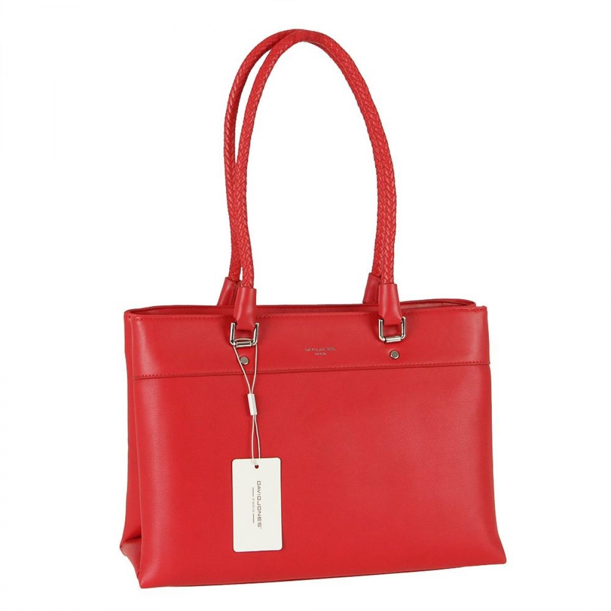 Жіноча сумка David Jones 6314-2 RED