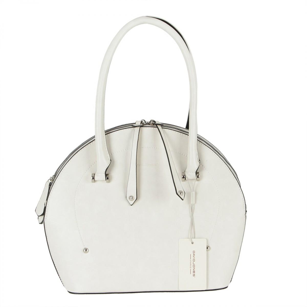 Жіноча сумка David Jones 6315-1 CREAMY WHITE
