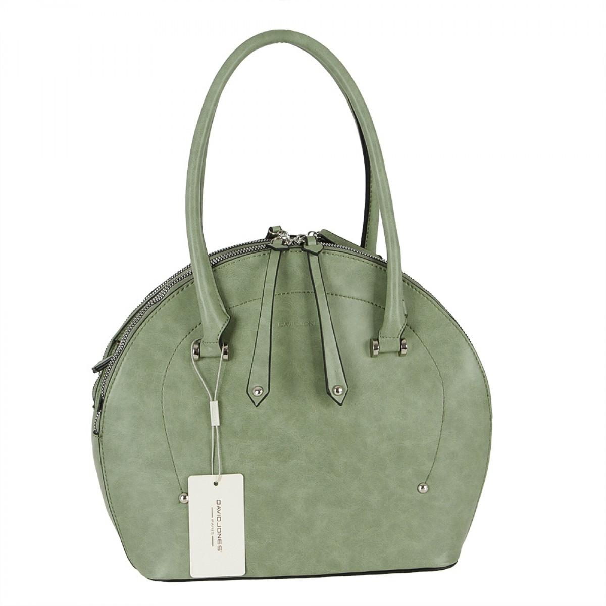 Жіноча сумка David Jones 6315-1 GREEN