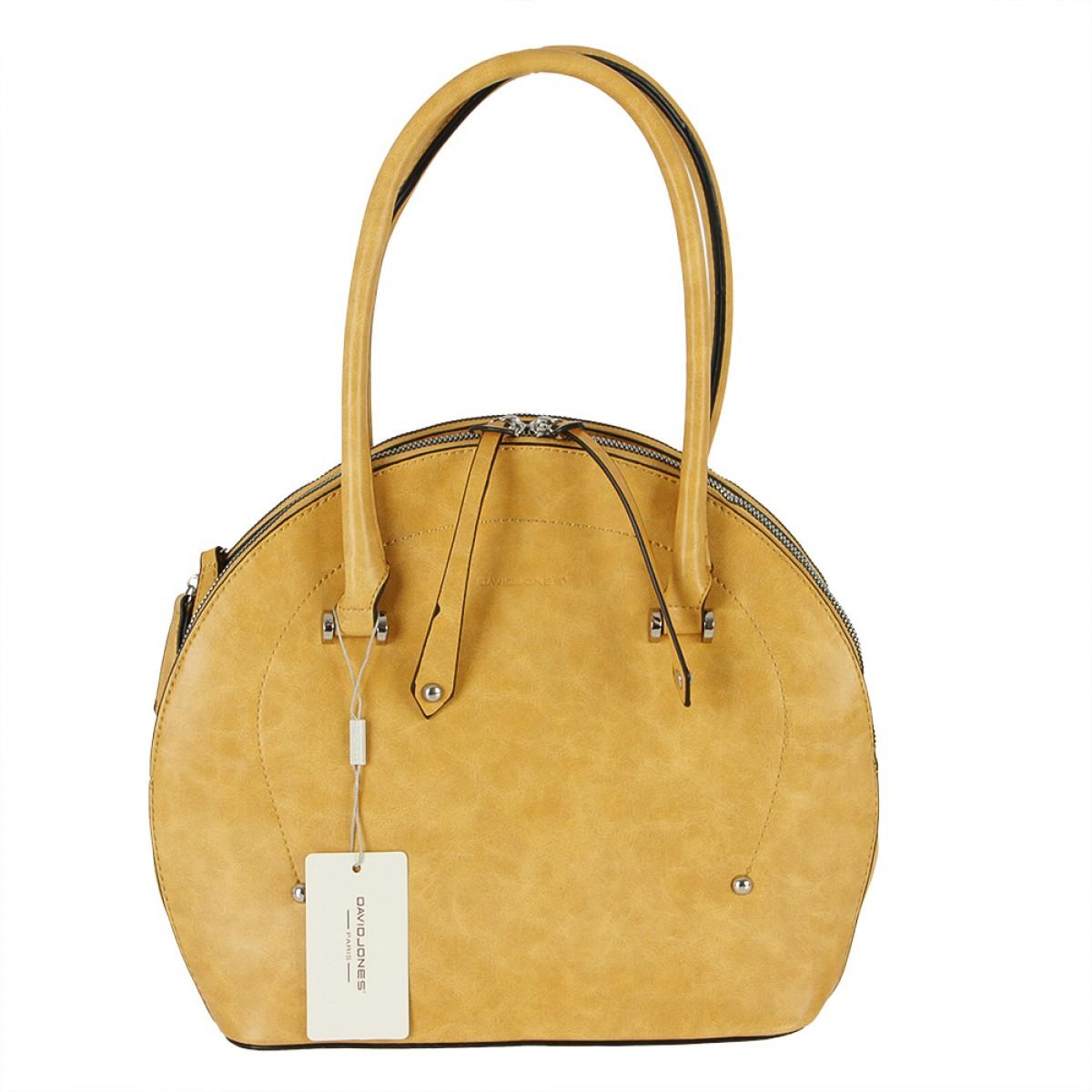 Жіноча сумка David Jones 6315-1 YELLOW