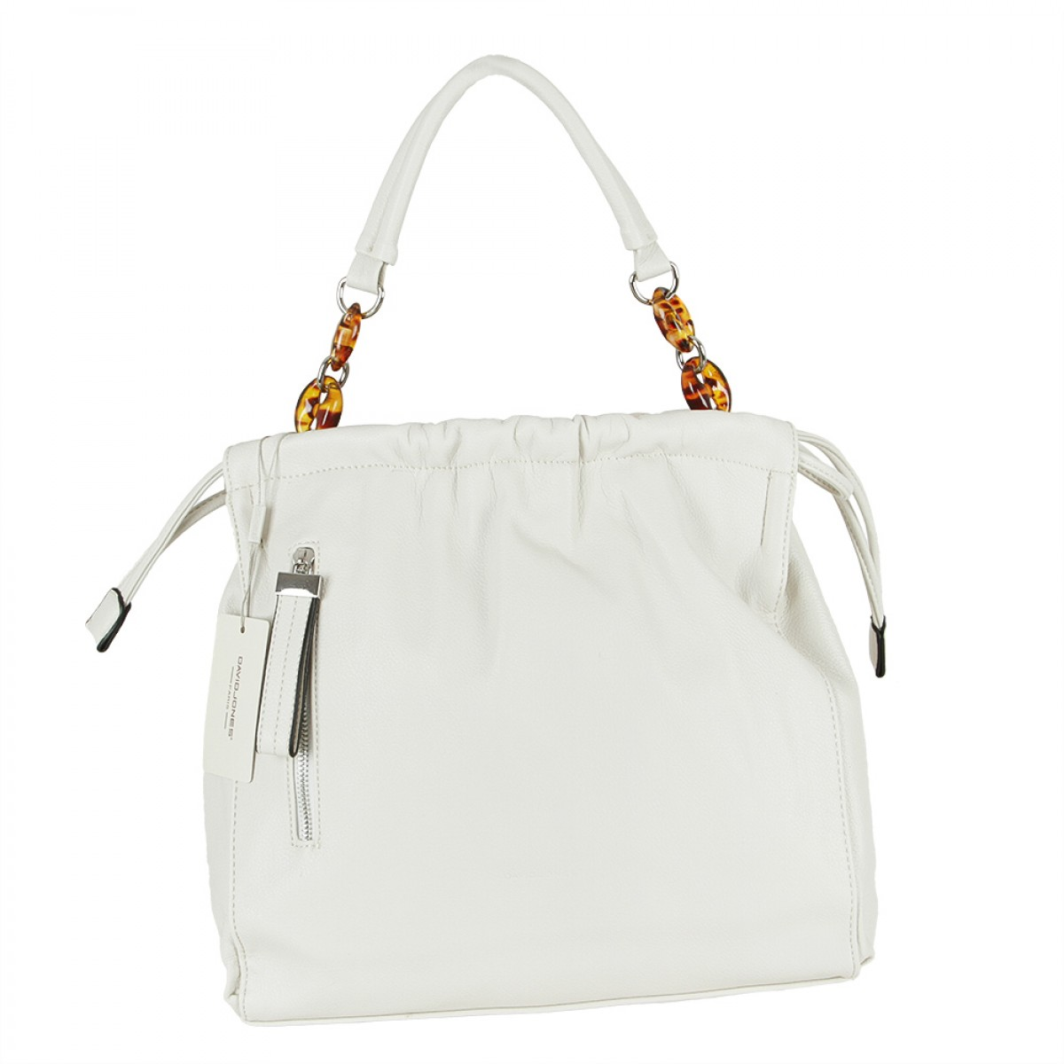 Жіноча сумка David Jones 6319-3 WHITE