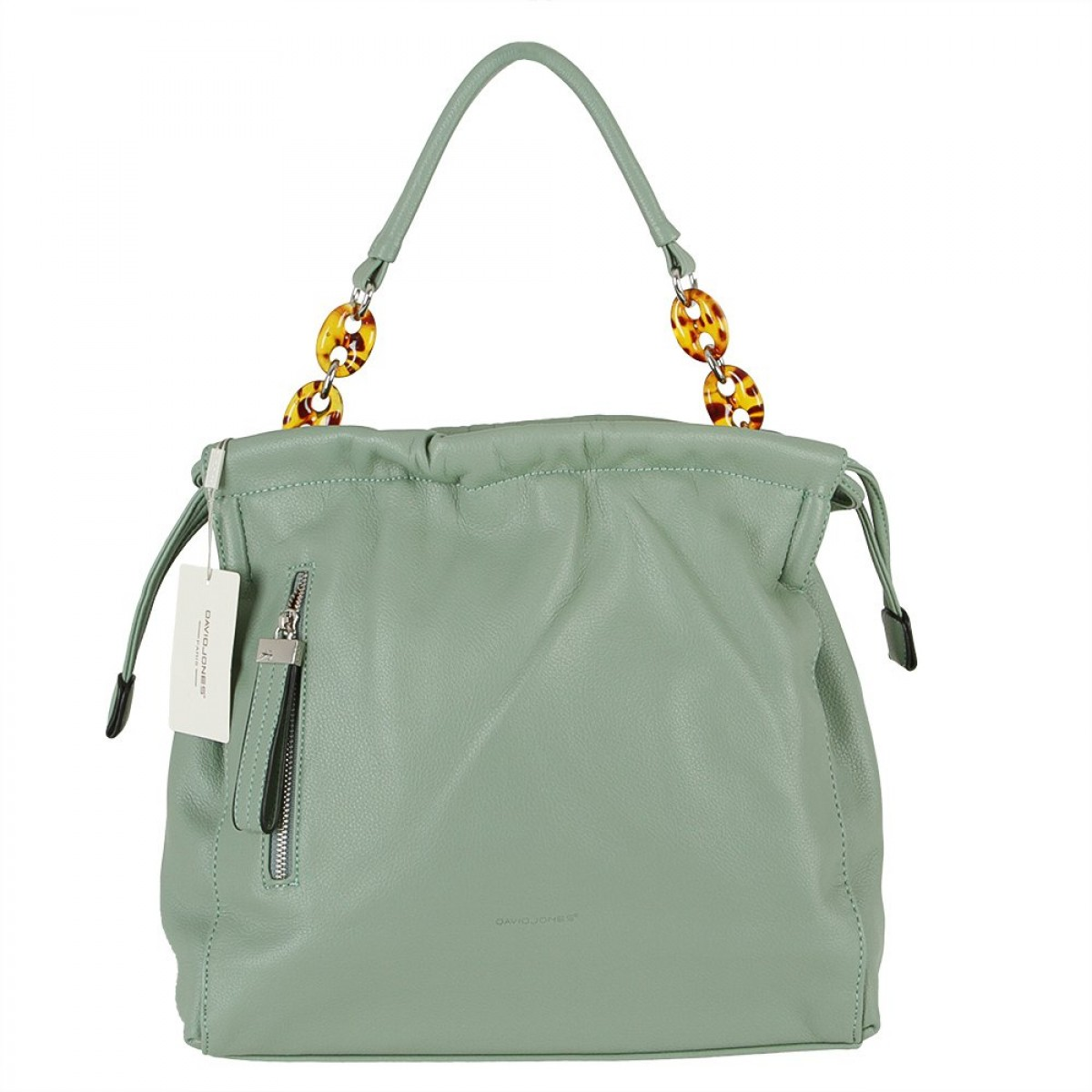 Жіноча сумка David Jones 6319-3 LIGHT GREEN
