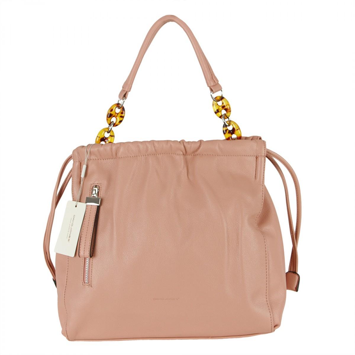 Жіноча сумка David Jones 6319-3 PINK