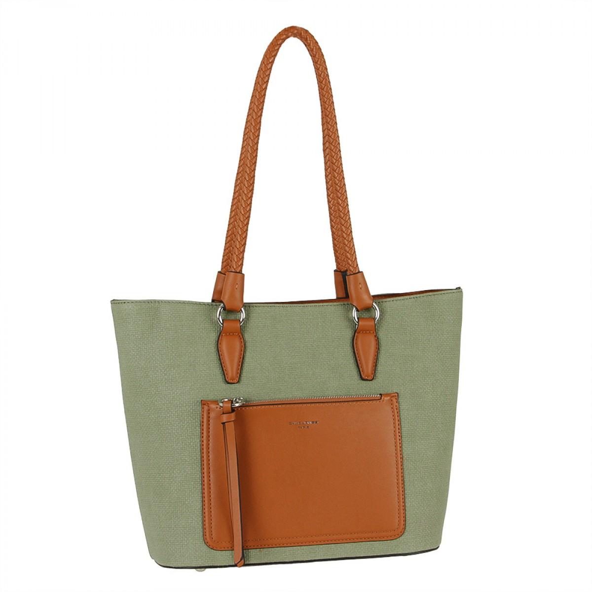 Жіноча сумка David Jones 6320-2 D.GREEN
