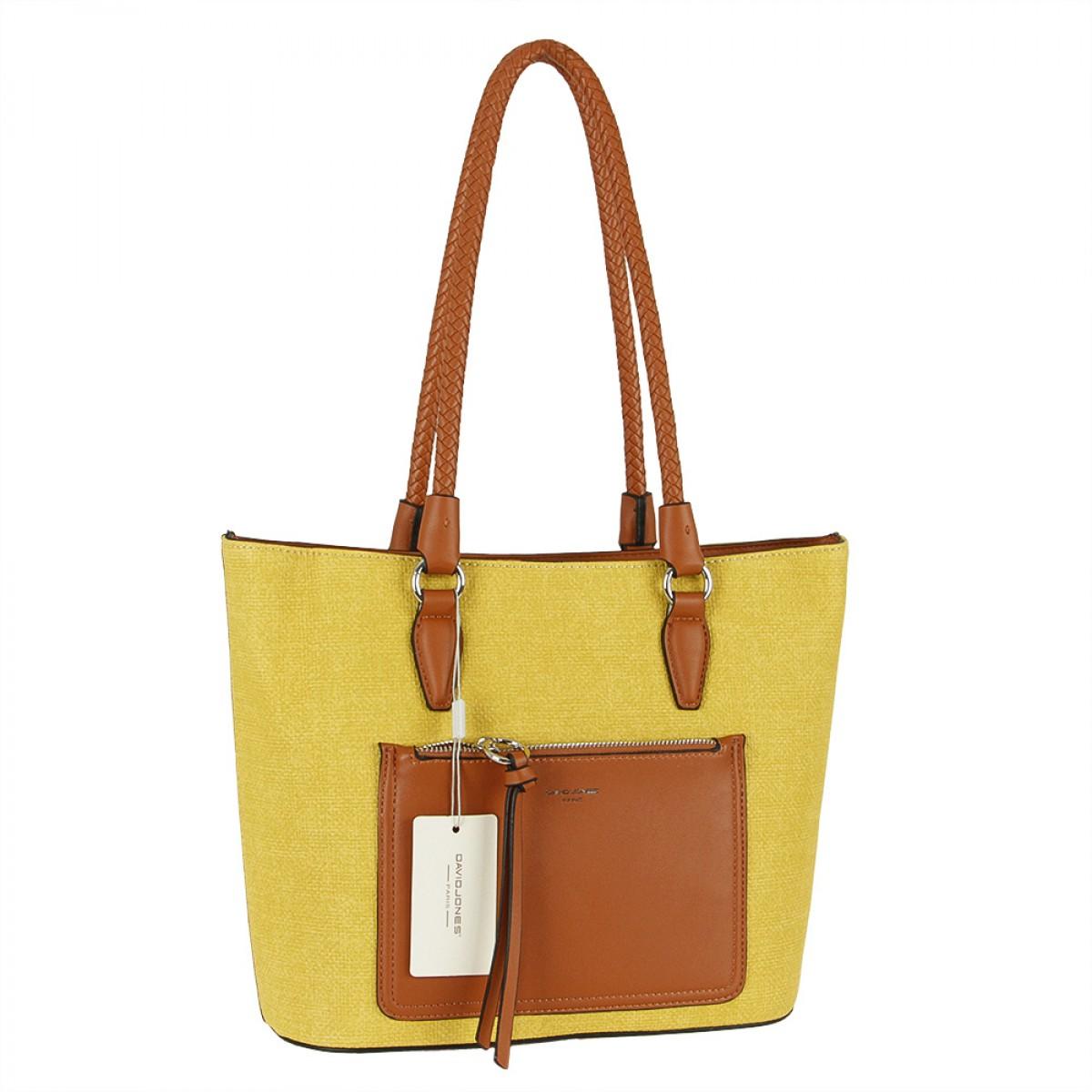 Жіноча сумка David Jones 6320-2 YELLOW