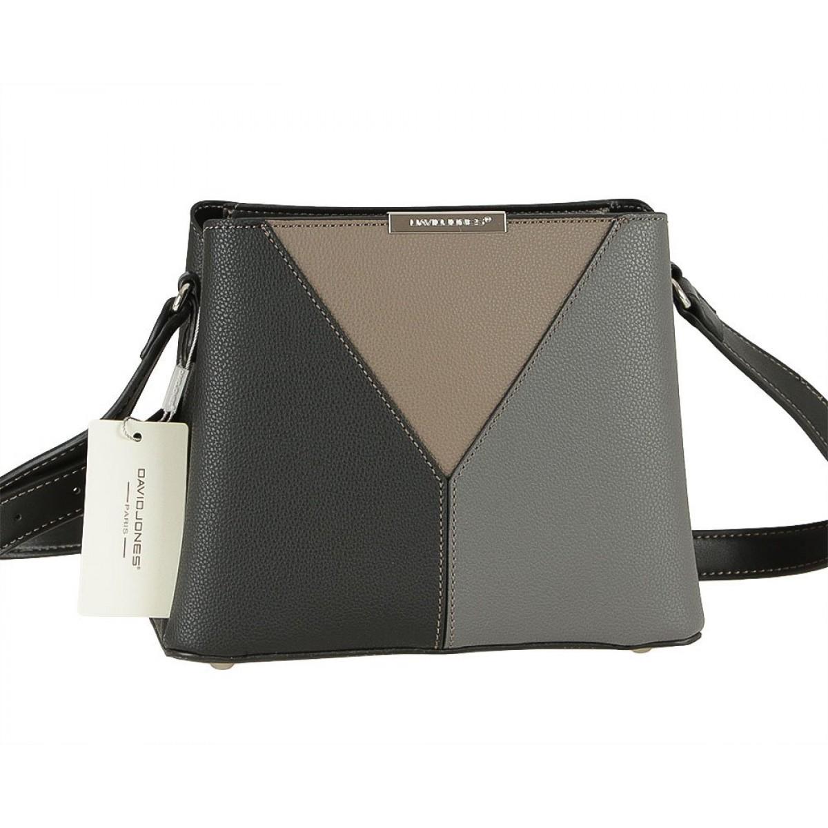 Жіноча сумка David Jones 6401-1 BLACK