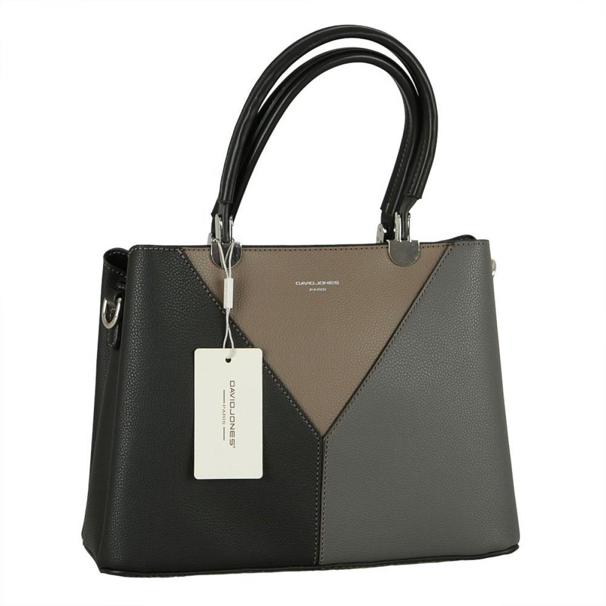 Жіноча сумка David Jones 6401-2 BLACK