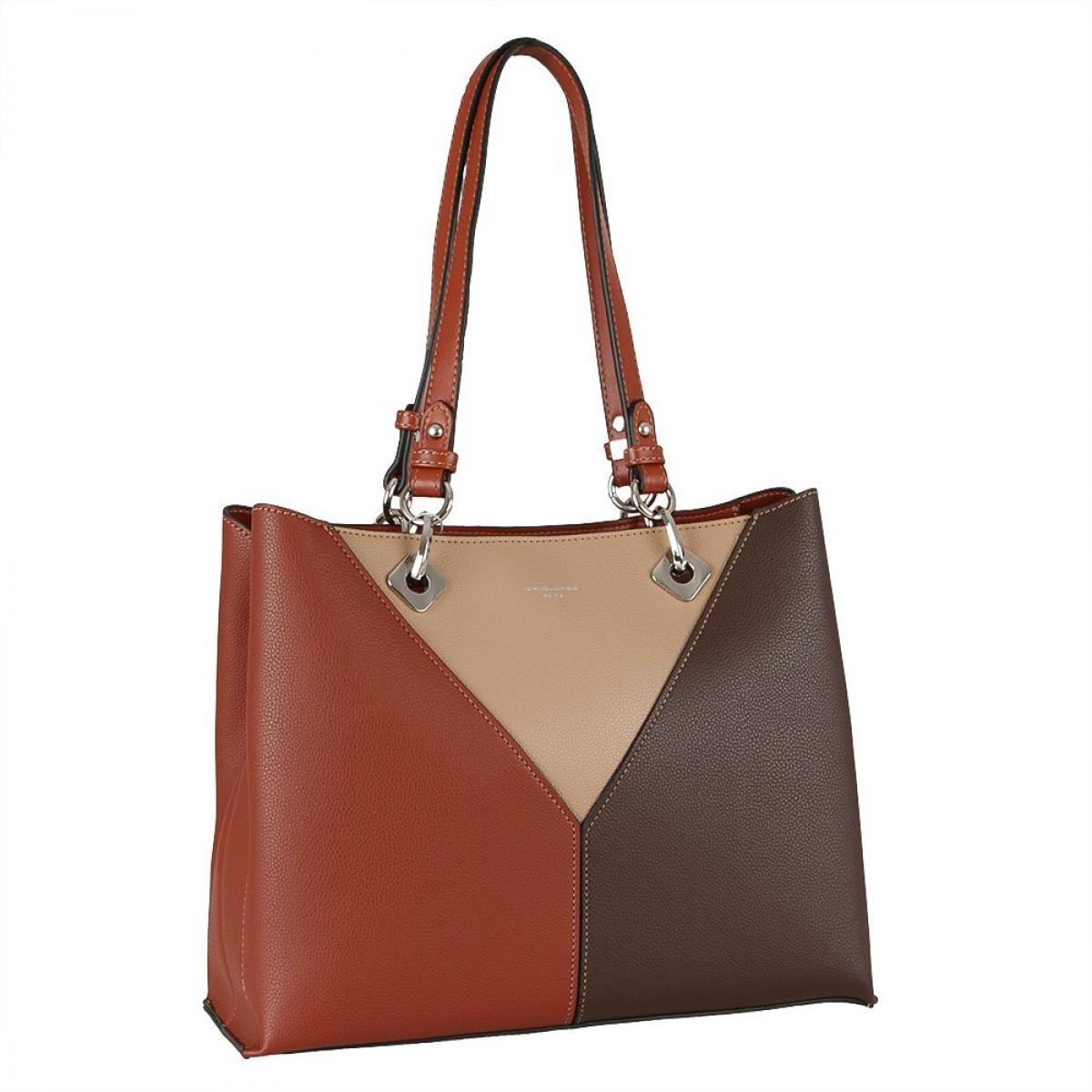 Жіноча сумка David Jones 6401-3 BROWN