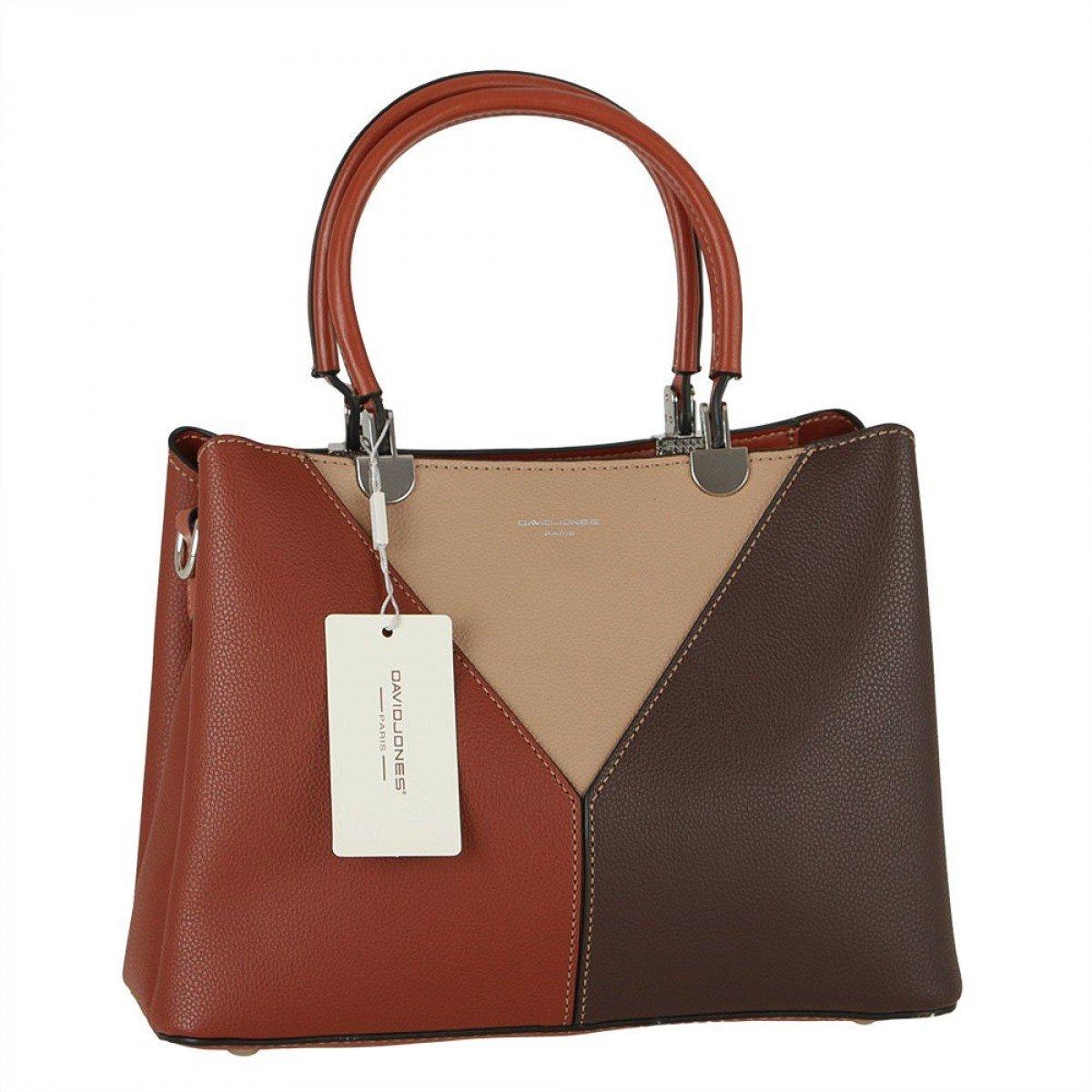 Жіноча сумка David Jones 6401-2 BROWN