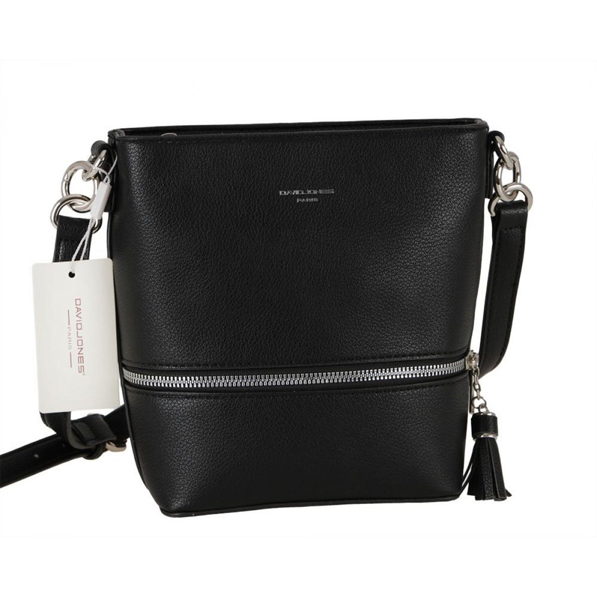 Жіноча сумка David Jones 6402-1 BLACK