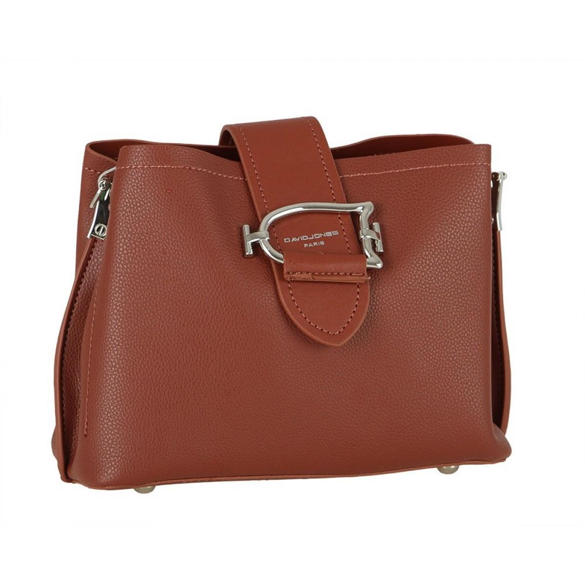 Жіноча сумка David Jones 6403-1 BROWN