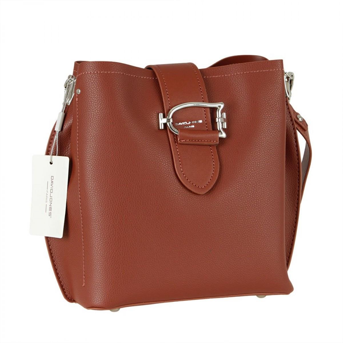 Жіноча сумка David Jones 6403-2 BROWN