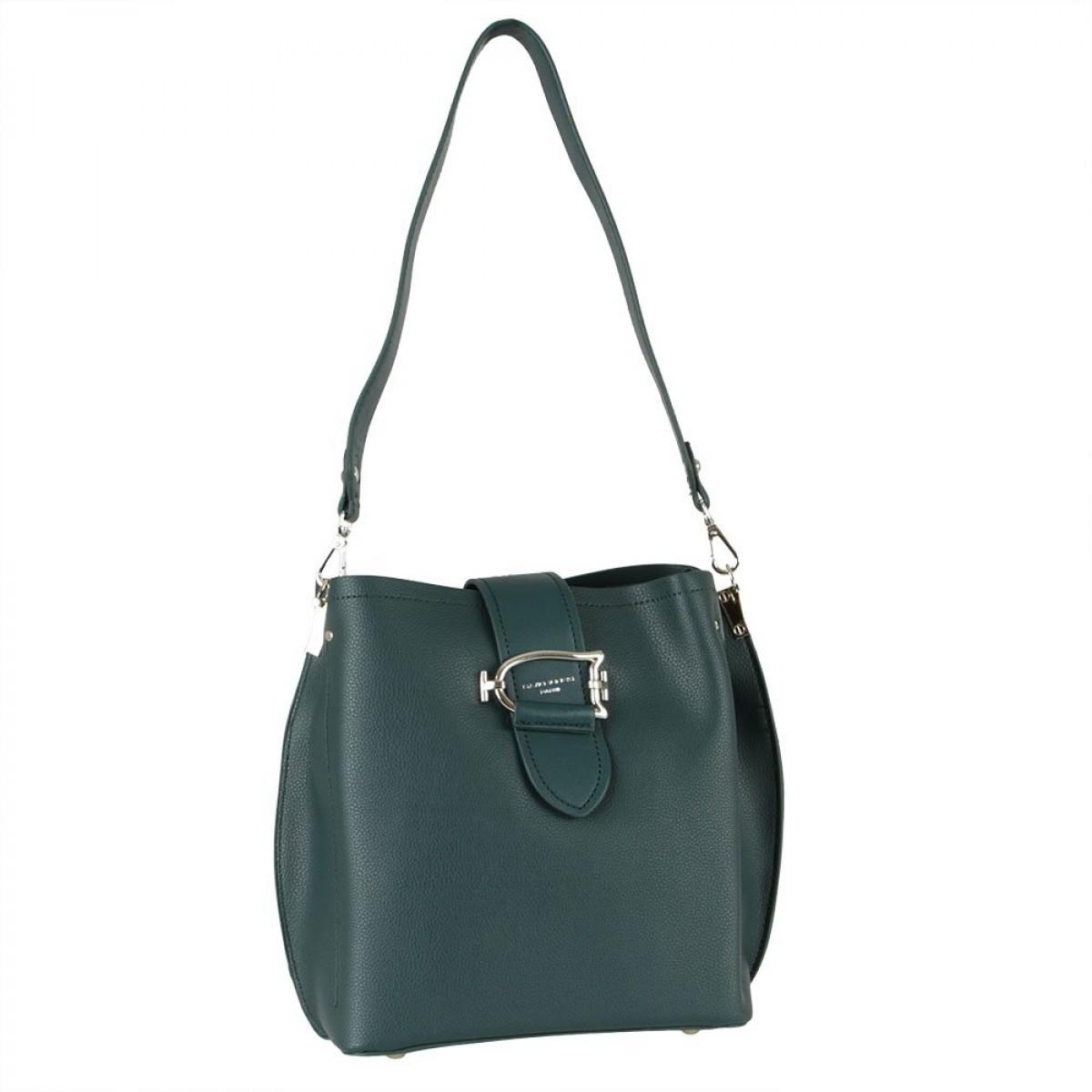 Жіноча сумка David Jones 6403-2 PEACOCK BLUE