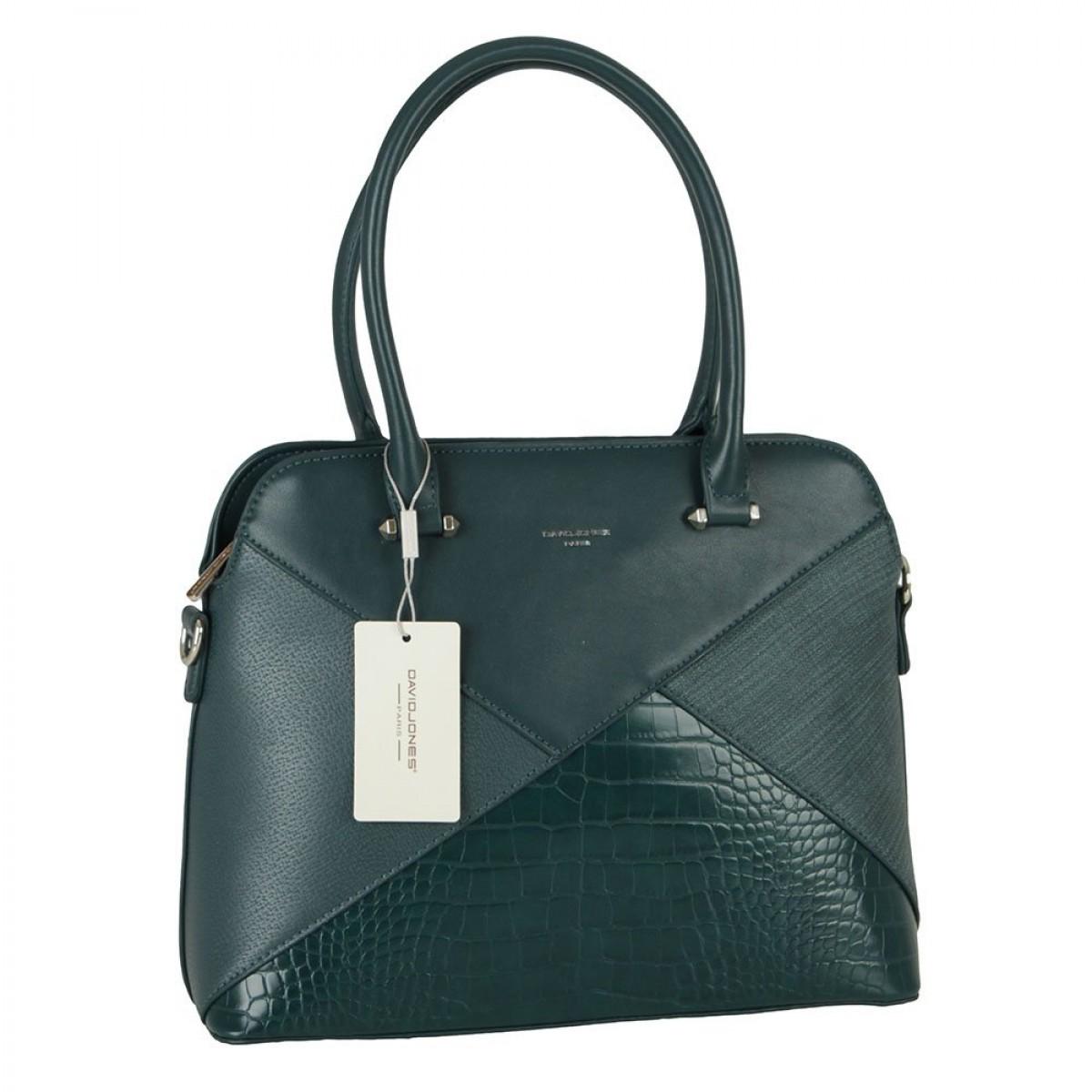 Жіноча сумка David Jones 6406-3 PEACOCK BLUE