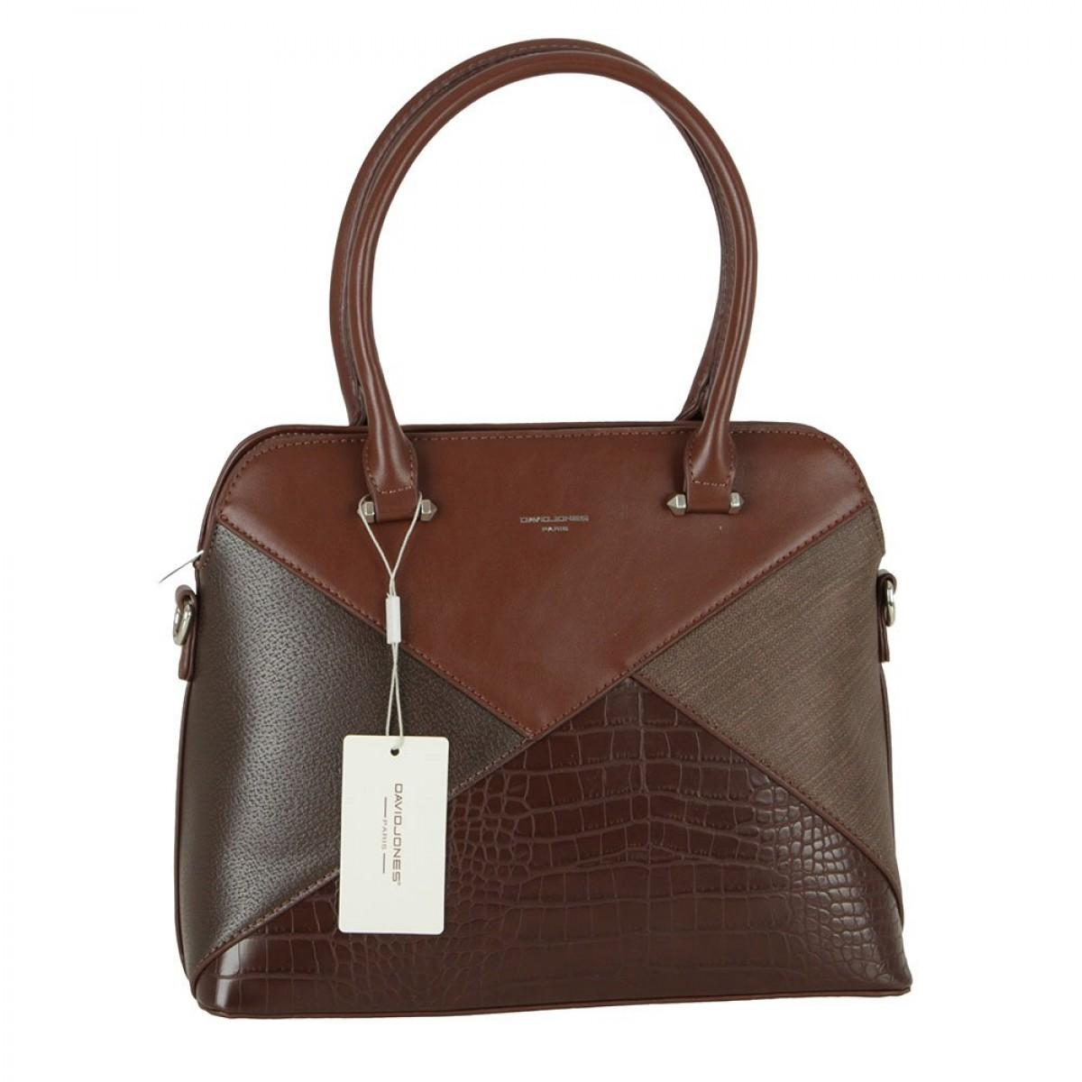 Жіноча сумка David Jones 6406-4 D. BROWN