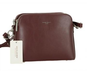 Жіноча сумка David Jones 6407-1 DARK BORDEAUX