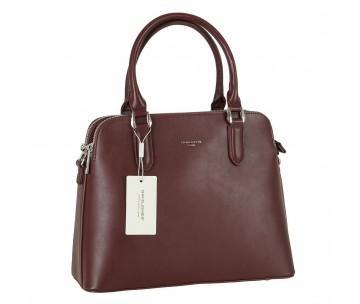 Жіноча сумка David Jones 6407-2 DARK BORDEAUX