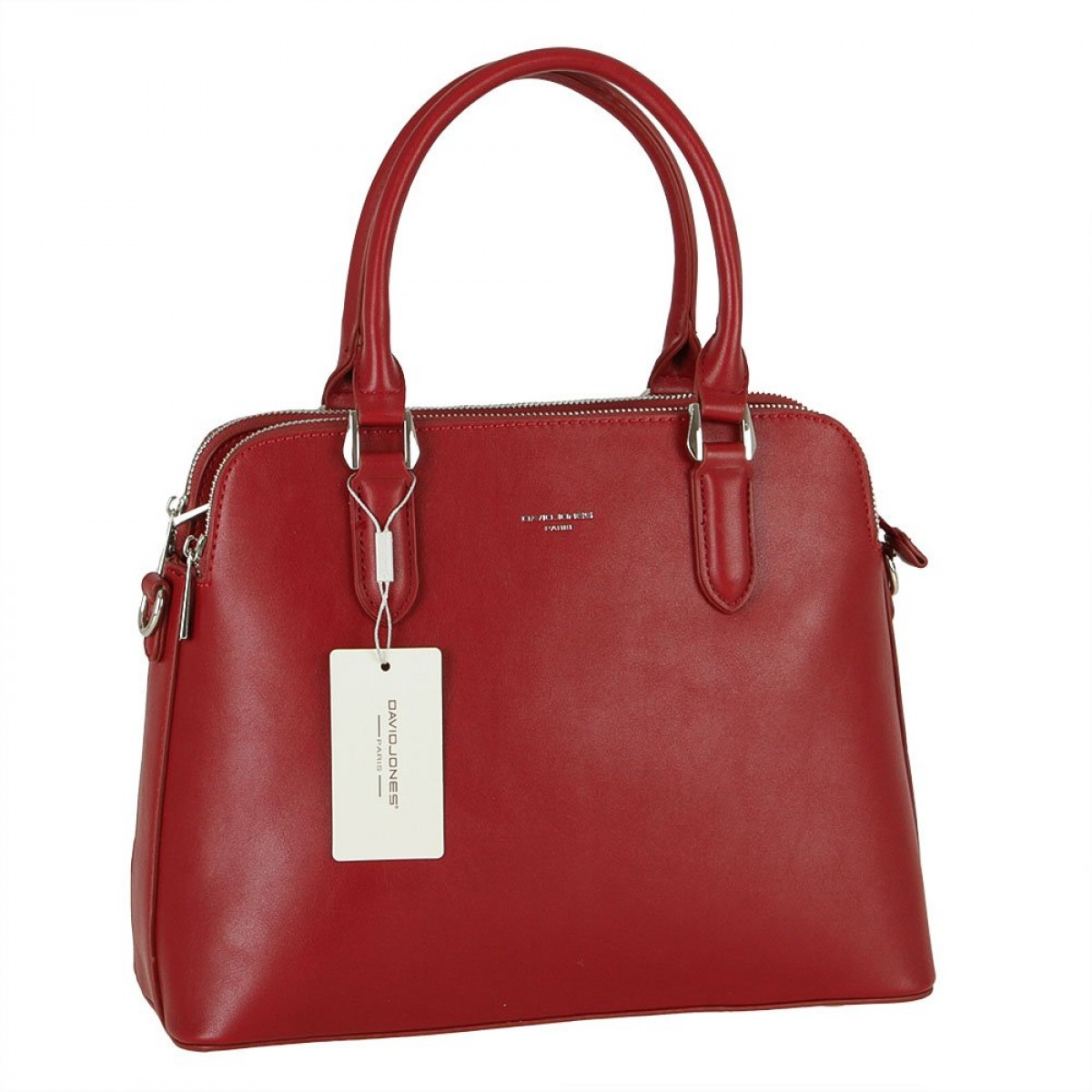 Жіноча сумка David Jones 6407-2 DARK RED