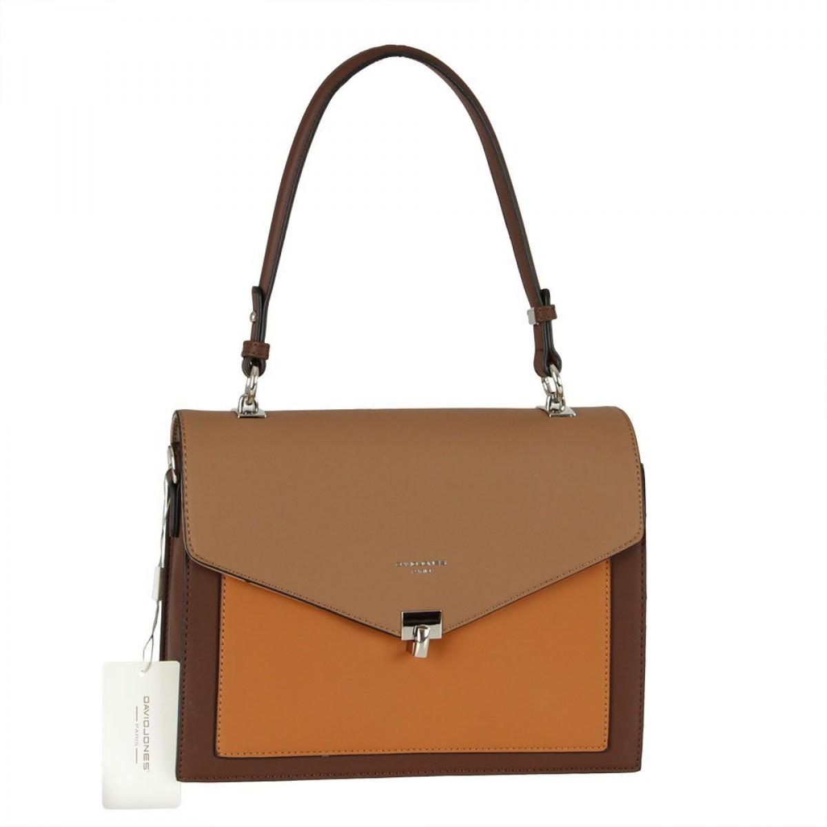 Жіноча сумка David Jones 6409-2 D.BROWN