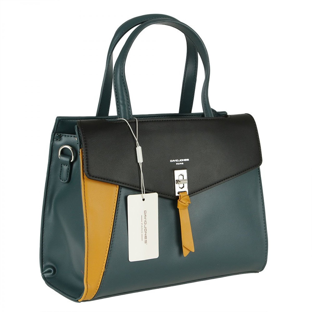 Жіноча сумка David Jones 6410-2 PEACOCK BLUE