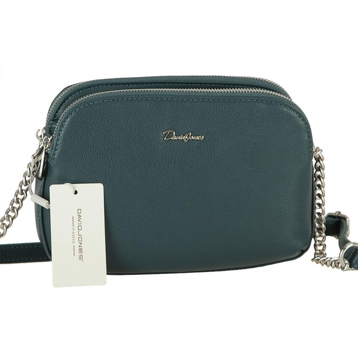 Жіноча сумка David Jones 6412-2 PEACOCK BLUE