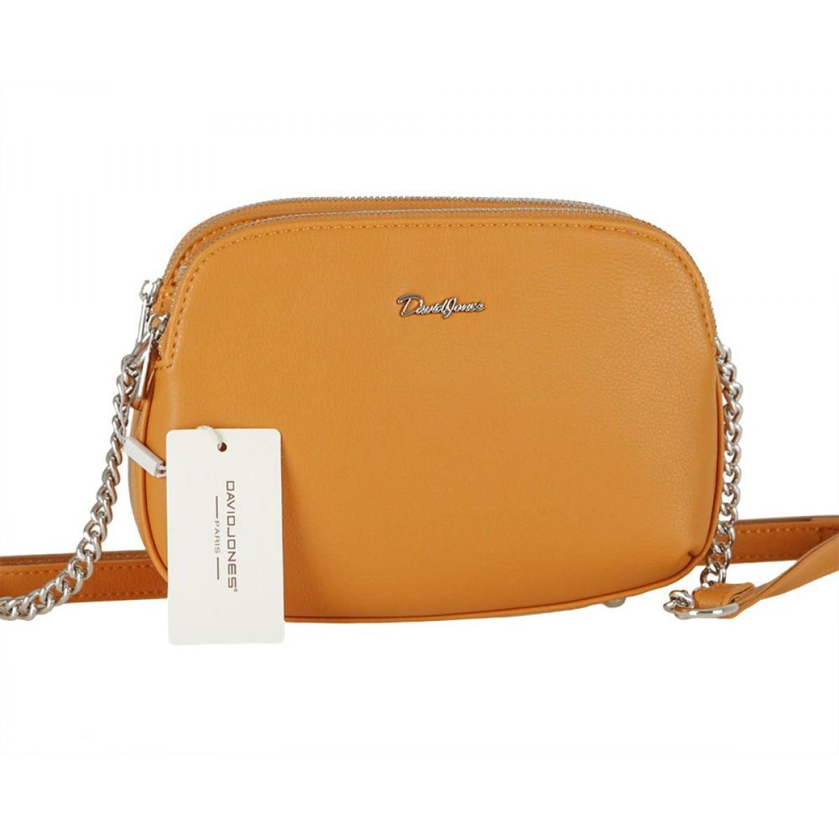 Жіноча сумка David Jones 6412-2 YELLOW