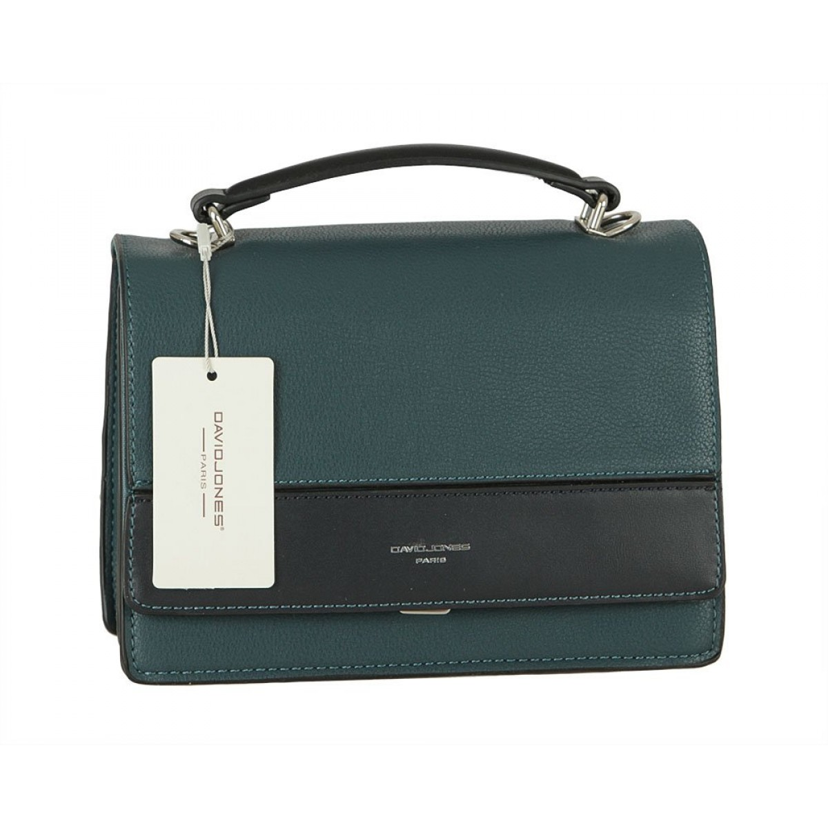 Жіноча сумка David Jones 6413-1 PEACOCK BLUE