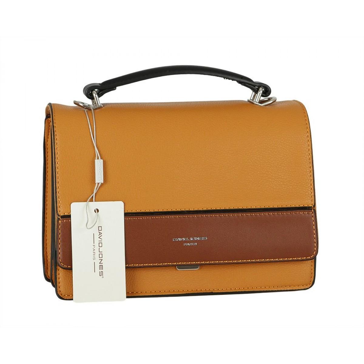 Жіноча сумка David Jones 6413-1 YELLOW