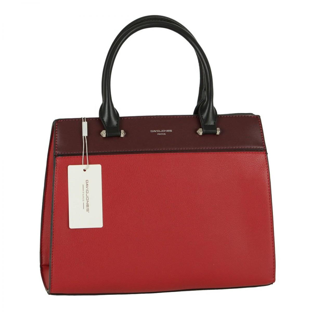 Жіноча сумка David Jones 6413-2 DARK RED