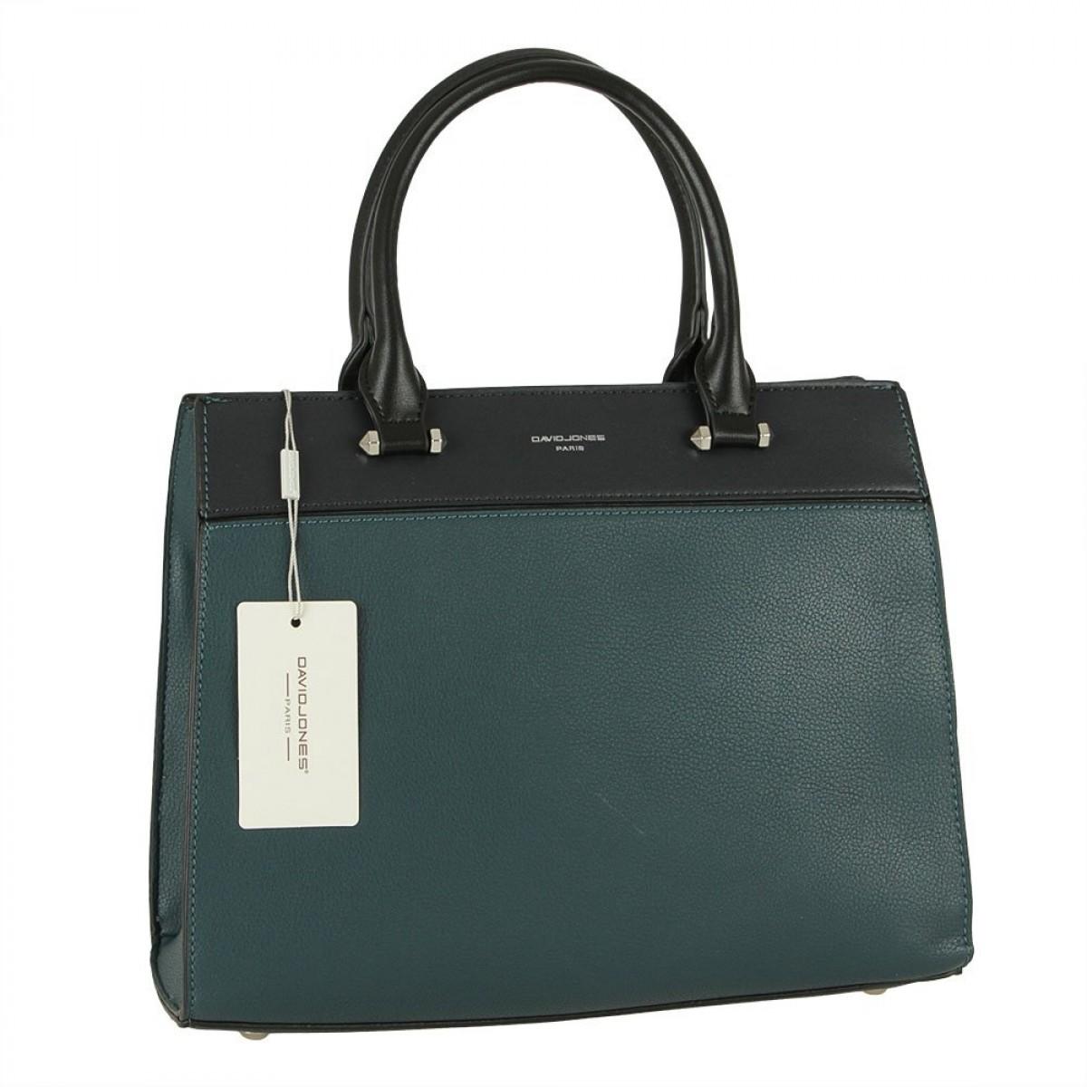 Жіноча сумка David Jones 6413-2 PEACOCK BLUE