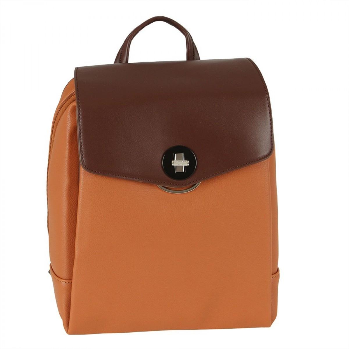 Жіночий рюкзак David Jones 6414-3 COGNAC