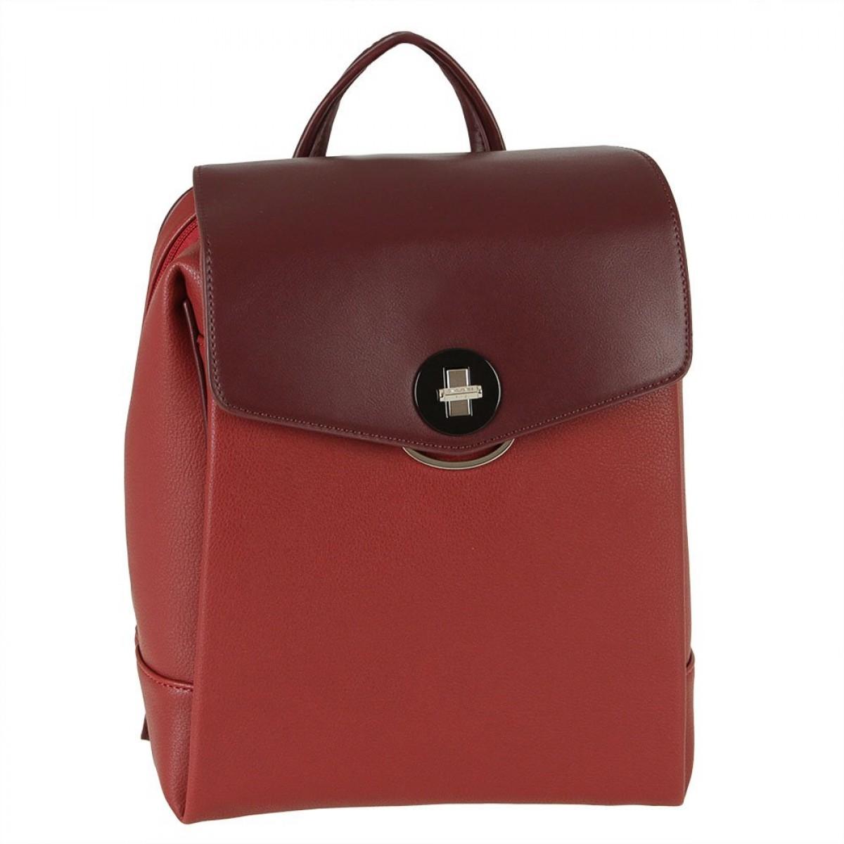 Жіночий рюкзак David Jones 6414-3 DARK RED