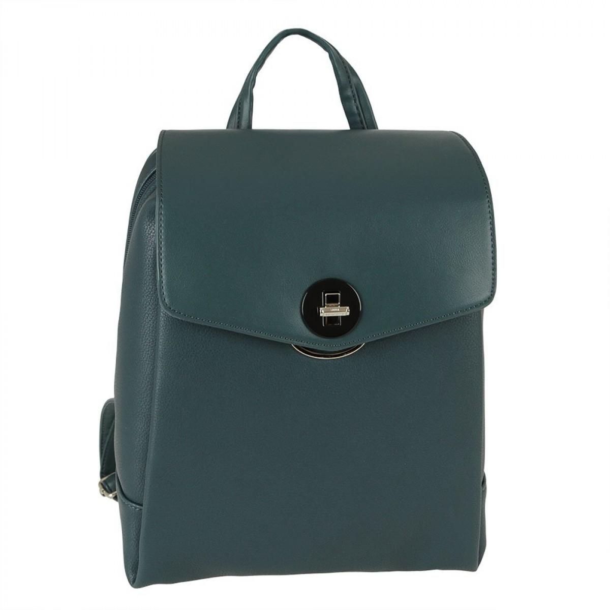 Жіночий рюкзак David Jones 6414-3 PEACOCK BLUE