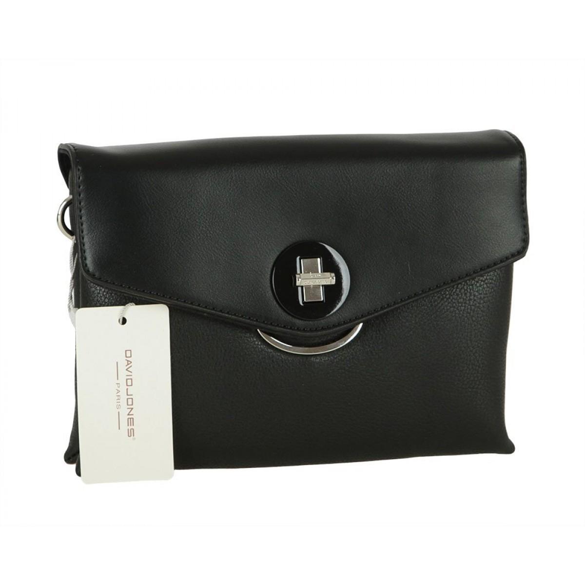 Жіноча сумка David Jones 6414-1 BLACK