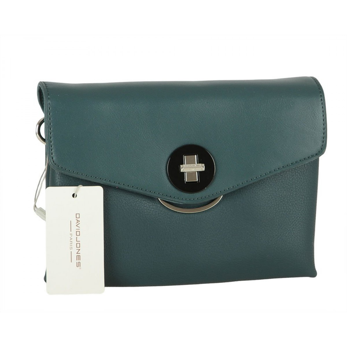 Жіноча сумка David Jones 6414-1 PEACOCK BLUE