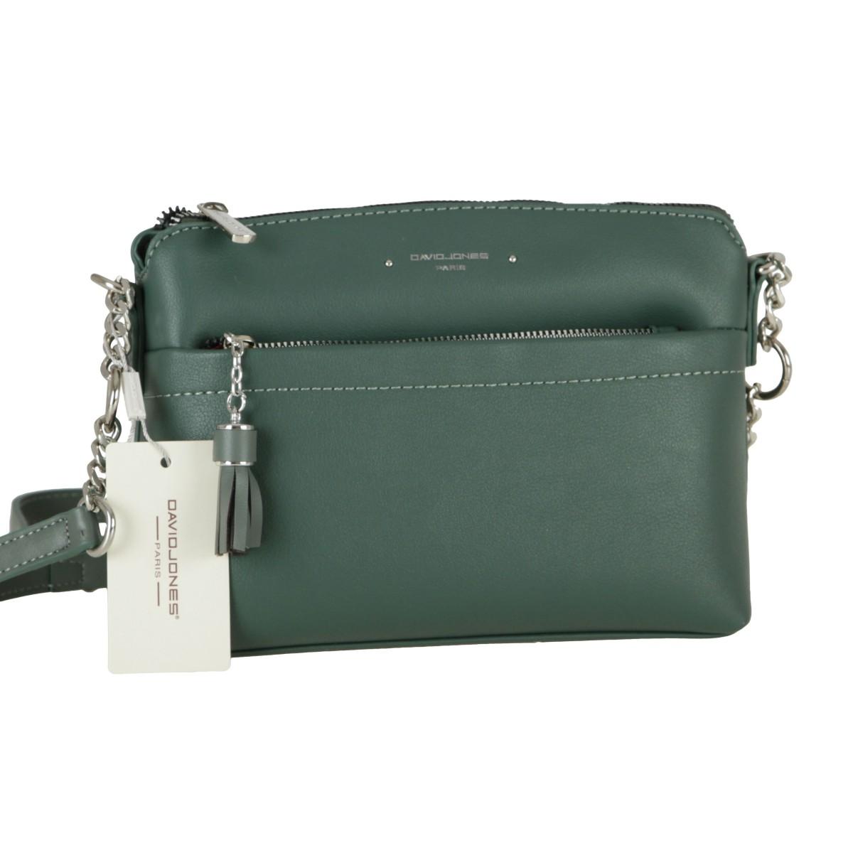 Жіноча сумка David Jones 6415-1 D.GREEN