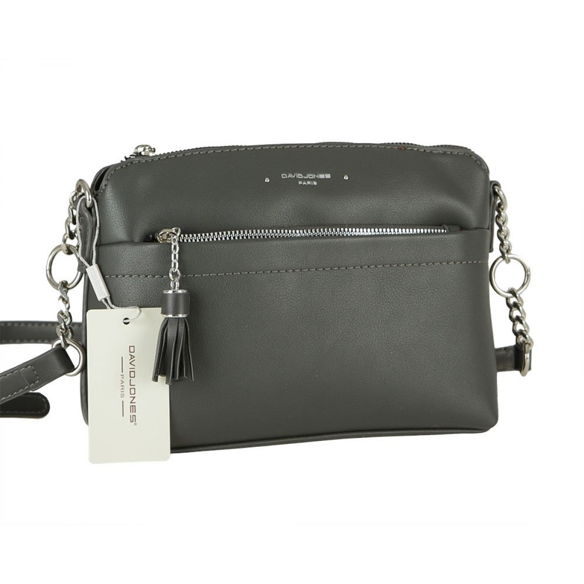 Жіноча сумка David Jones 6415-1 D.GREY