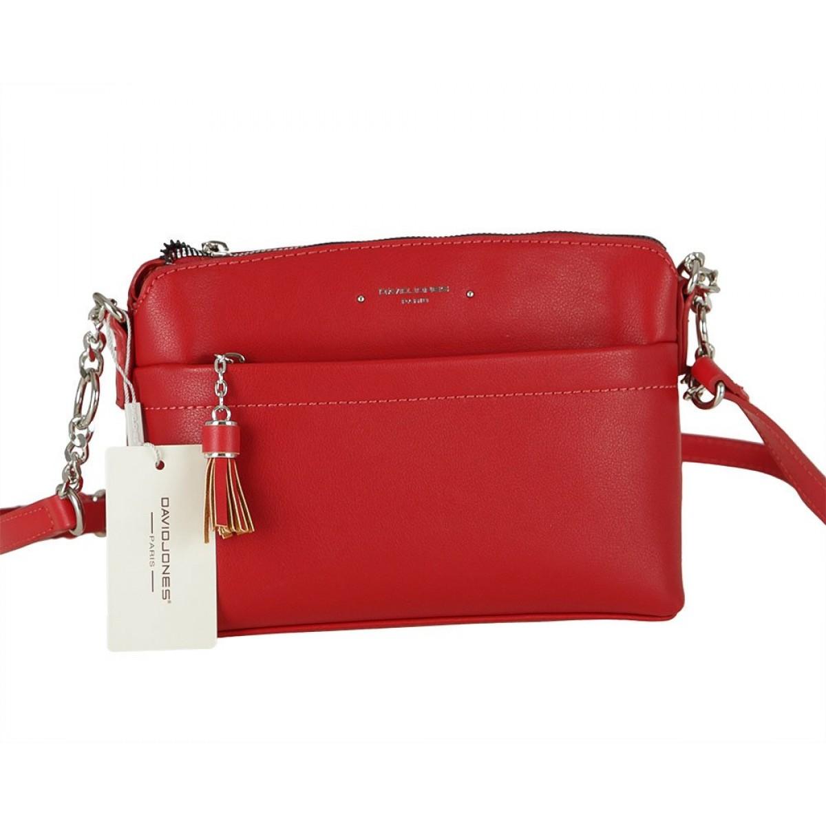 Жіноча сумка David Jones 6415-1 RED