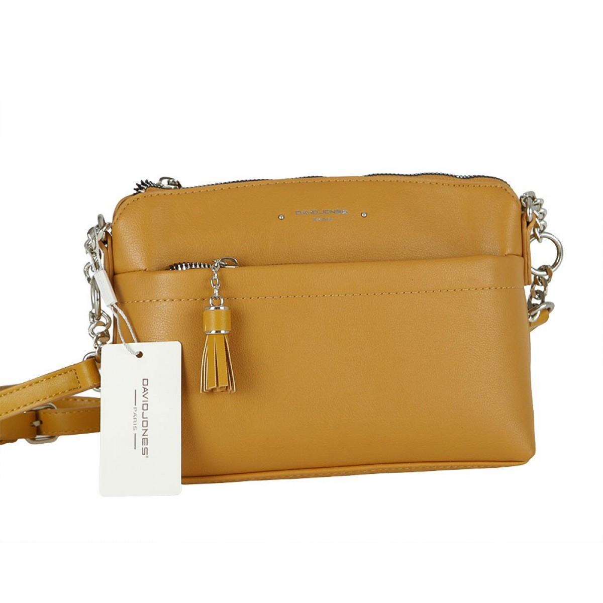 Жіноча сумка David Jones 6415-1 YELLOW