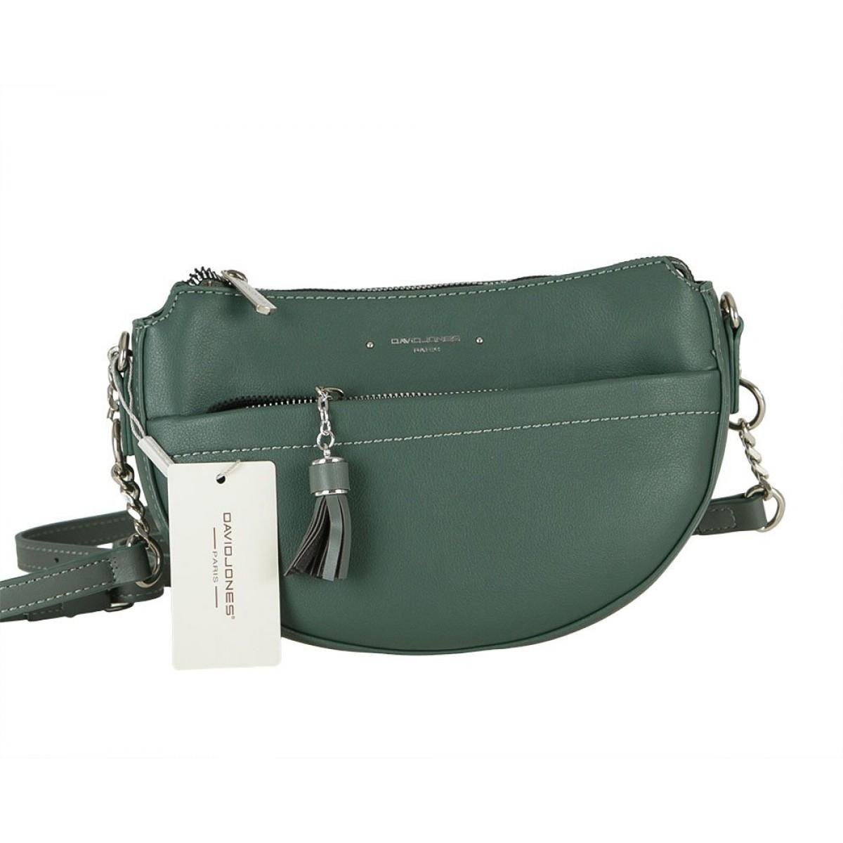 Жіноча сумка David Jones 6415-2 D.GREEN