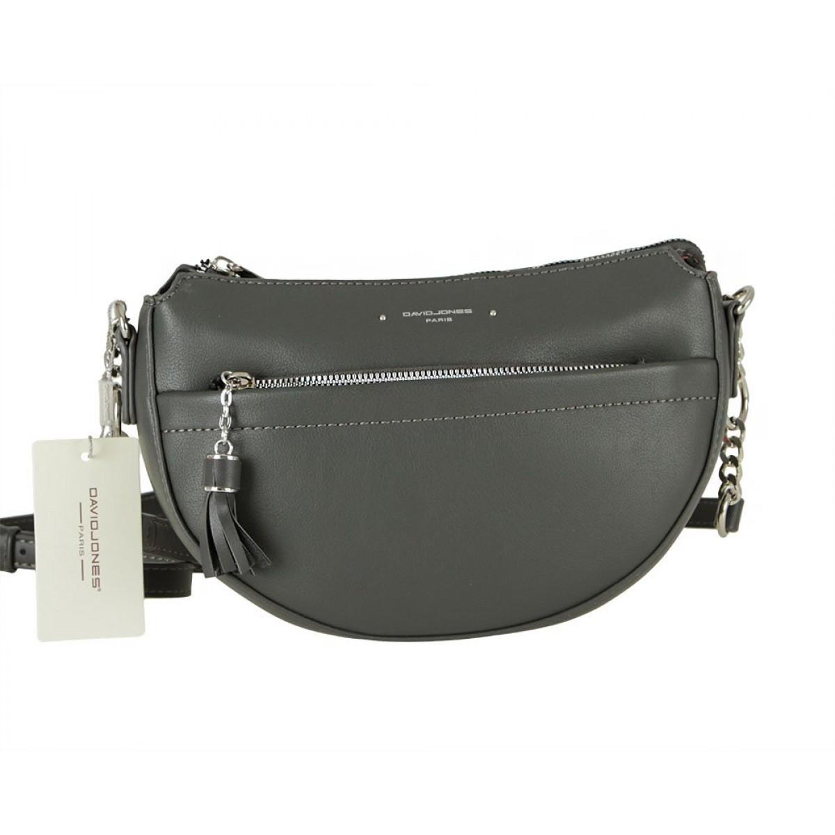 Жіноча сумка David Jones 6415-2 D.GREY