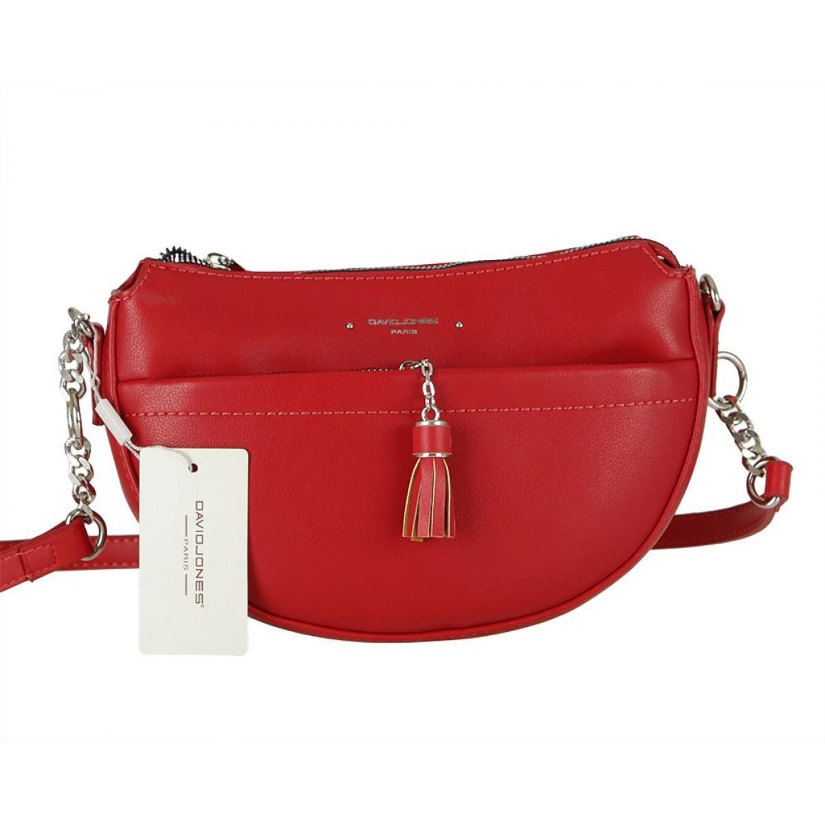 Жіноча сумка David Jones 6415-2 RED