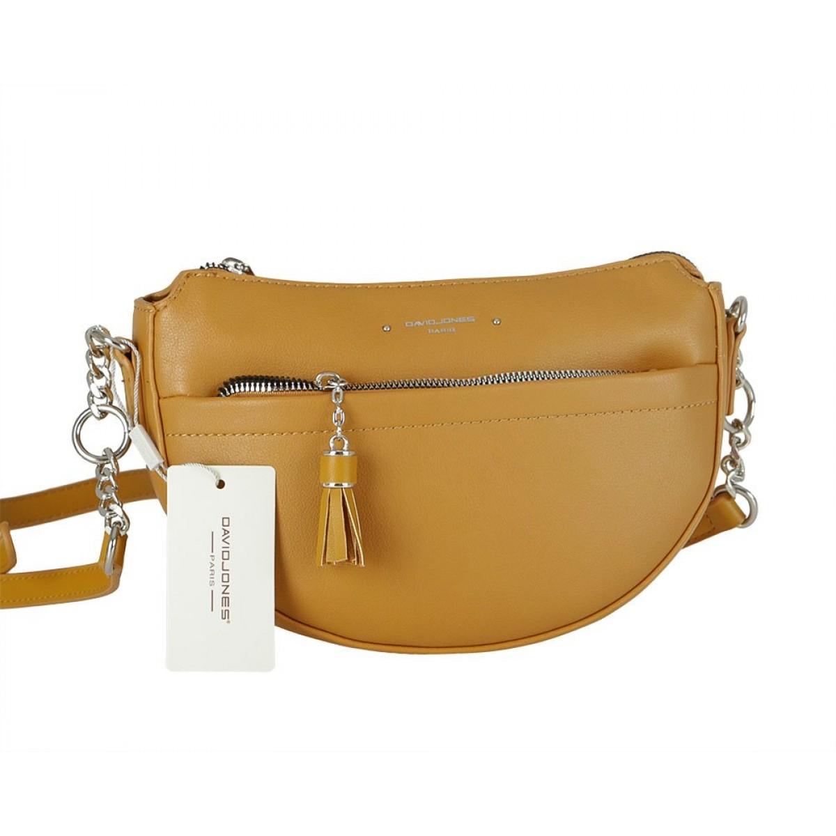 Жіноча сумка David Jones 6415-2 YELLOW