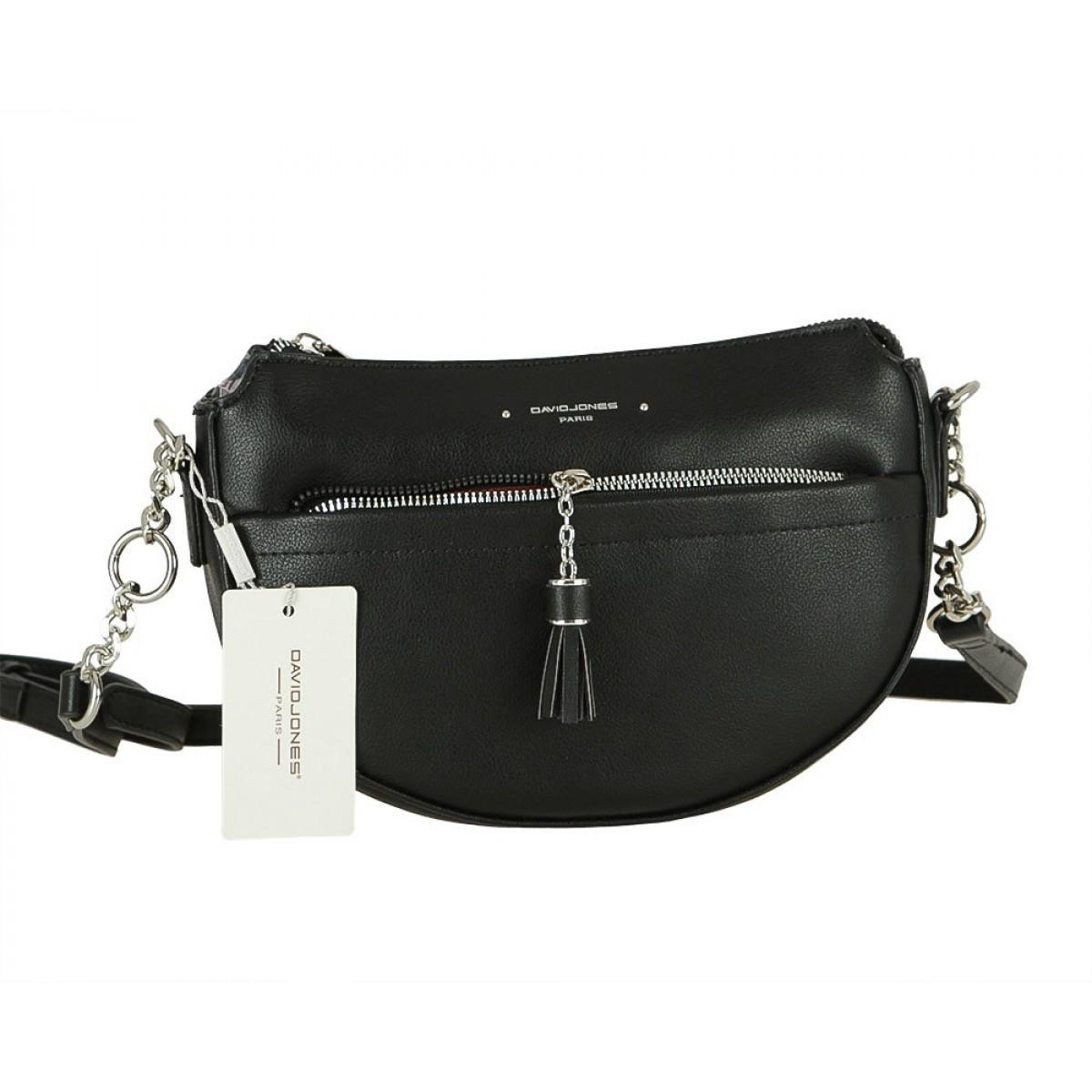 Жіноча сумка David Jones 6415-2 BLACK