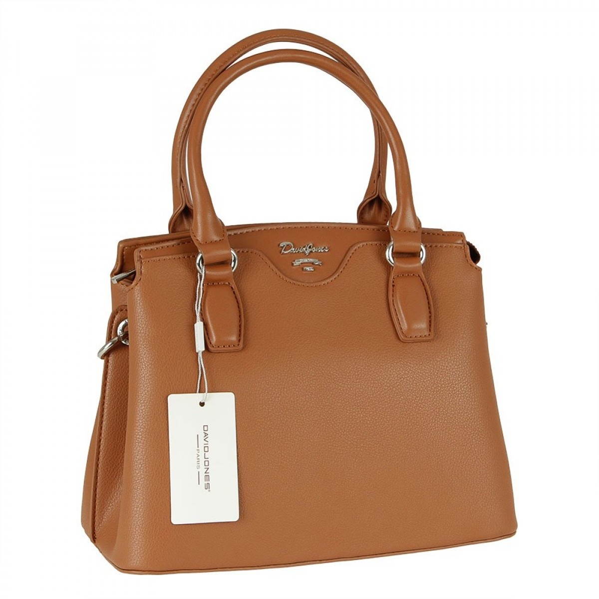 Жіноча сумка David Jones 6416-1 COGNAC