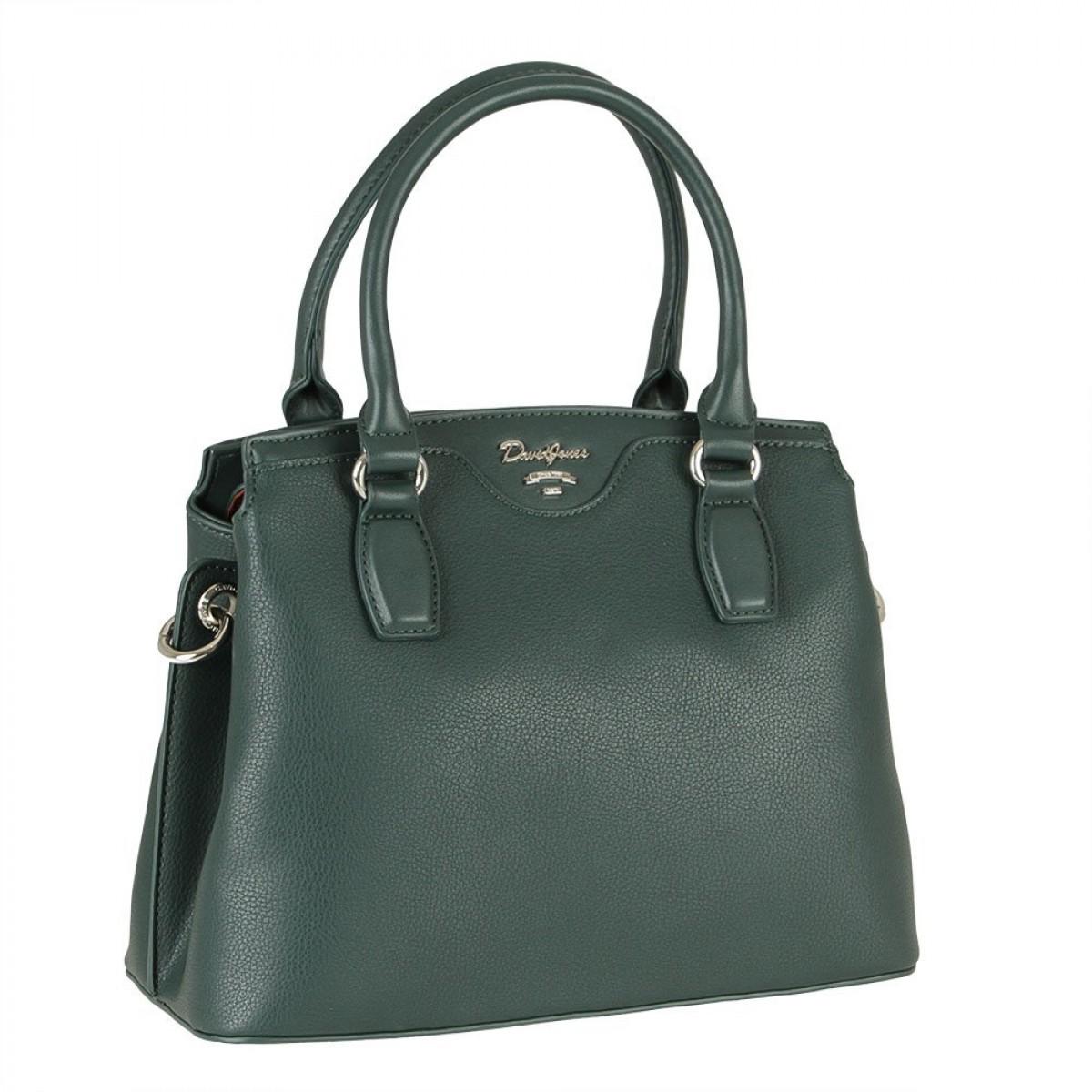 Жіноча сумка David Jones 6416-1 D.GREEN