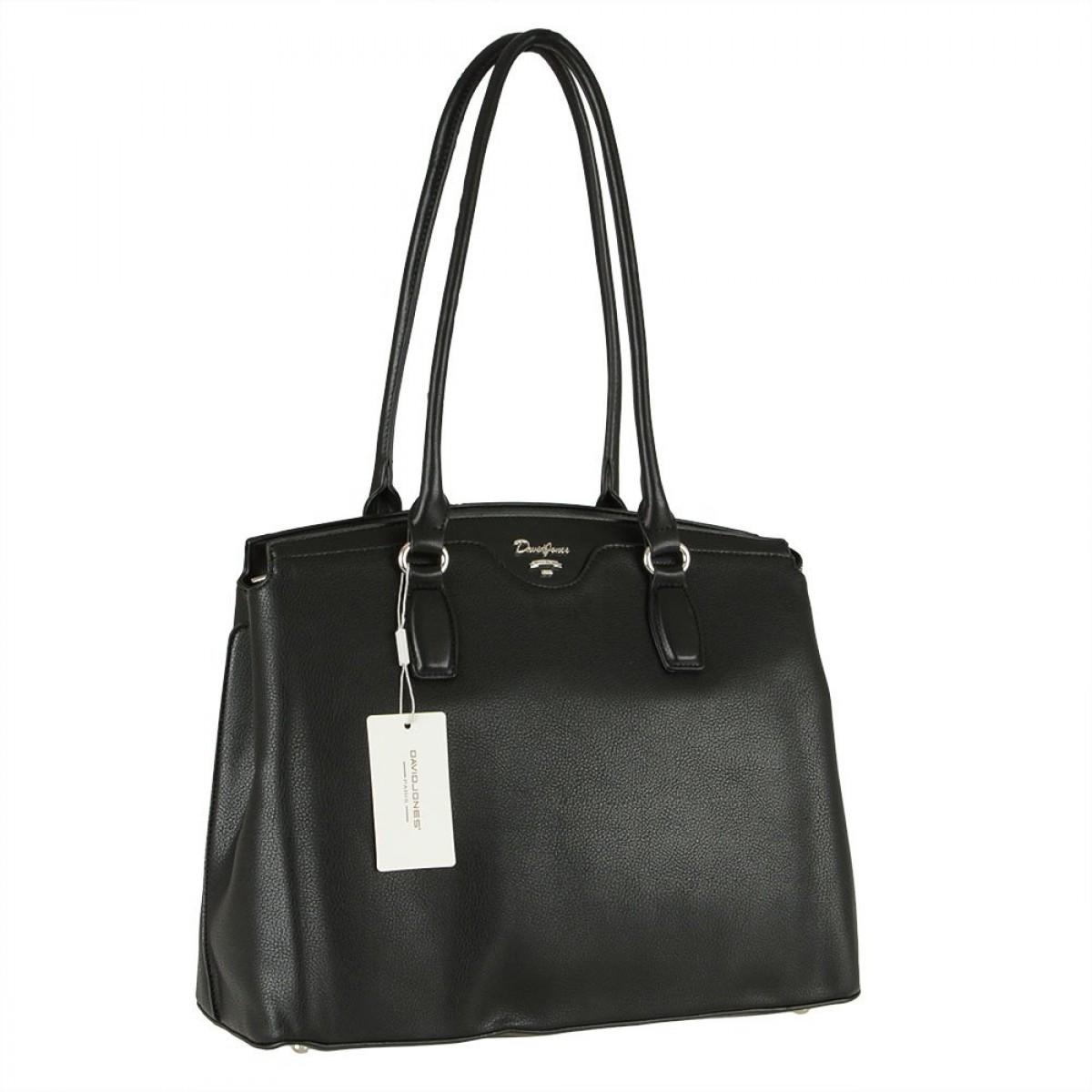 Жіноча сумка David Jones 6416-2 BLACK