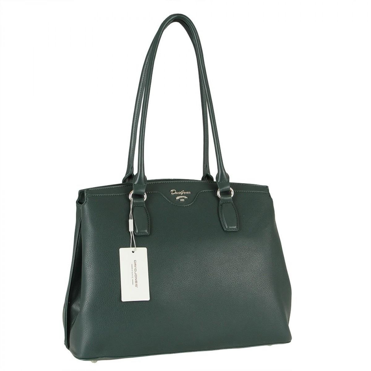Жіноча сумка David Jones 6416-2 D.GREEN