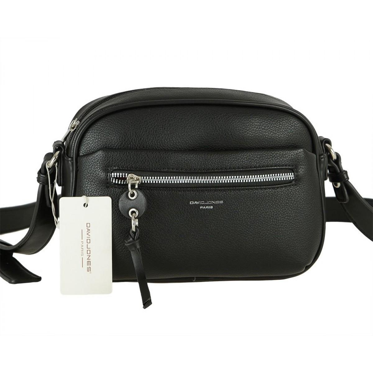 Жіноча сумка David Jones 6418-1 BLACK